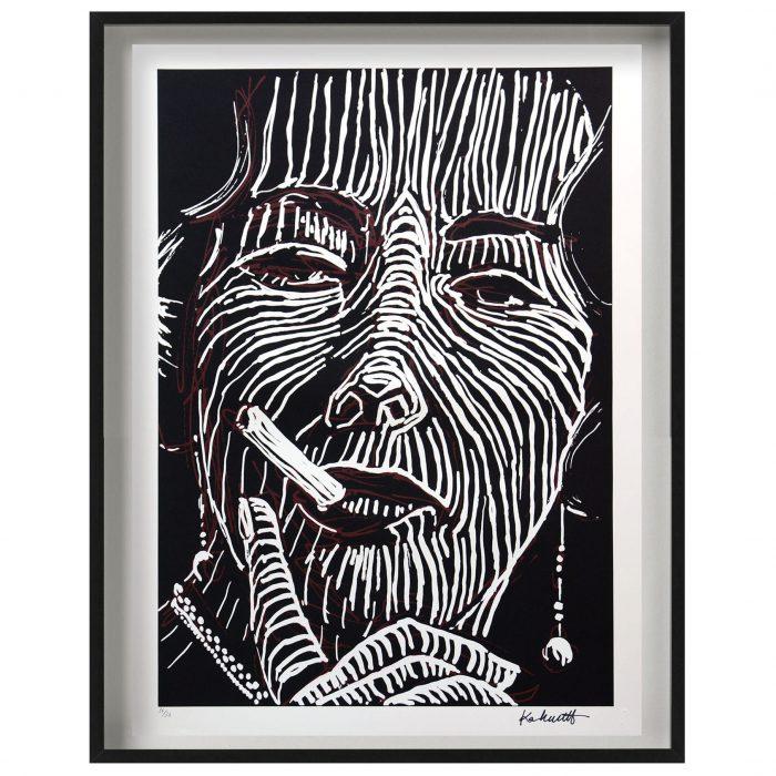 Print_Faye-Dunaway-om-mondays-2_75x55cm_2018_1500px_FRAMED